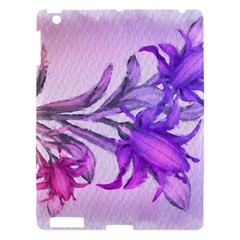 Flowers Flower Purple Flower Apple Ipad 3/4 Hardshell Case