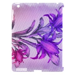Flowers Flower Purple Flower Apple Ipad 3/4 Hardshell Case (compatible With Smart Cover)