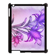 Flowers Flower Purple Flower Apple Ipad 3/4 Case (black) by Nexatart