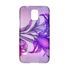 Flowers Flower Purple Flower Samsung Galaxy S5 Hardshell Case