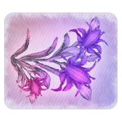 Flowers Flower Purple Flower Double Sided Flano Blanket (small)  by Nexatart