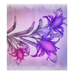 Flowers Flower Purple Flower Shower Curtain 66  X 72  (large)