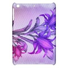 Flowers Flower Purple Flower Apple Ipad Mini Hardshell Case by Nexatart