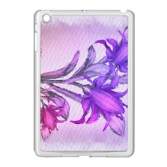 Flowers Flower Purple Flower Apple Ipad Mini Case (white) by Nexatart