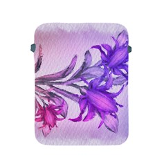 Flowers Flower Purple Flower Apple Ipad 2/3/4 Protective Soft Cases by Nexatart