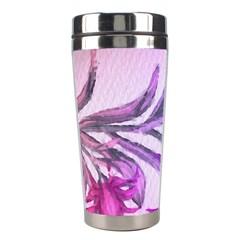 Flowers Flower Purple Flower Stainless Steel Travel Tumblers