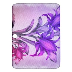 Flowers Flower Purple Flower Samsung Galaxy Tab 3 (10 1 ) P5200 Hardshell Case