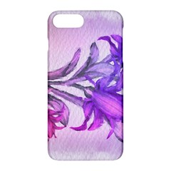 Flowers Flower Purple Flower Apple Iphone 7 Plus Hardshell Case by Nexatart