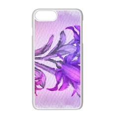 Flowers Flower Purple Flower Apple Iphone 7 Plus Seamless Case (white) by Nexatart