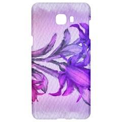 Flowers Flower Purple Flower Samsung C9 Pro Hardshell Case  by Nexatart