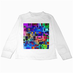 Background Art Abstract Watercolor Kids Long Sleeve T Shirts