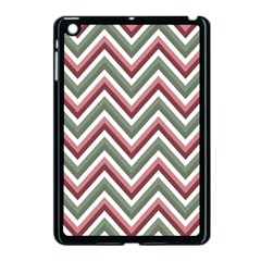 Chevron Blue Pink Apple Ipad Mini Case (black) by snowwhitegirl