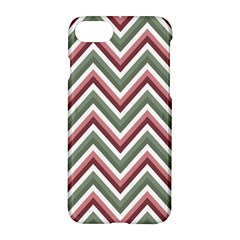 Chevron Blue Pink Apple Iphone 7 Hardshell Case