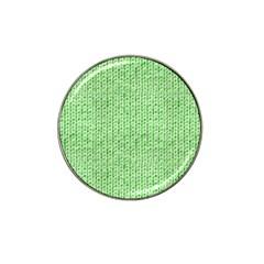 Knittedwoolcolour2 Hat Clip Ball Marker (10 Pack)