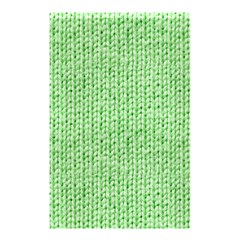Knittedwoolcolour2 Shower Curtain 48  X 72  (small)  by snowwhitegirl