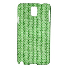 Knittedwoolcolour2 Samsung Galaxy Note 3 N9005 Hardshell Case by snowwhitegirl