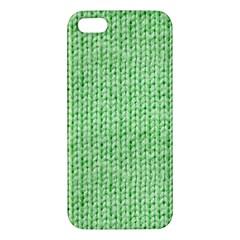 Knittedwoolcolour2 Iphone 5s/ Se Premium Hardshell Case by snowwhitegirl