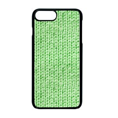 Knittedwoolcolour2 Apple Iphone 7 Plus Seamless Case (black)