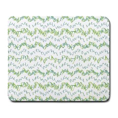 Wavy Linear Seamless Pattern Design  Large Mousepads by dflcprints