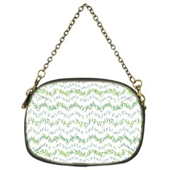 Wavy Linear Seamless Pattern Design  Chain Purses (one Side)  by dflcprints