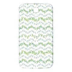 Wavy Linear Seamless Pattern Design  Samsung Galaxy Mega I9200 Hardshell Back Case by dflcprints