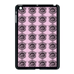 Three Women Pink Apple Ipad Mini Case (black) by snowwhitegirl