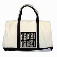 On Deck Two Tone Tote Bag by MRTACPANS