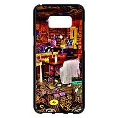 Home Sweet Home Samsung Galaxy S8 Plus Black Seamless Case