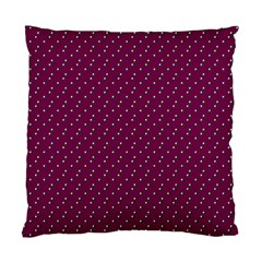Pink Flowers Magenta Standard Cushion Case (two Sides) by snowwhitegirl