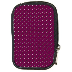 Pink Flowers Magenta Compact Camera Cases by snowwhitegirl