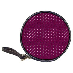 Pink Flowers Magenta Classic 20-CD Wallets