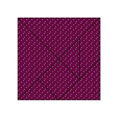 Pink Flowers Magenta Acrylic Tangram Puzzle (4  x 4 )