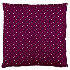 Pink Flowers Magenta Large Cushion Case (one Side) by snowwhitegirl