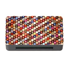 Mosaic Pattern Quilt Pattern Memory Card Reader With Cf by paulaoliveiradesign