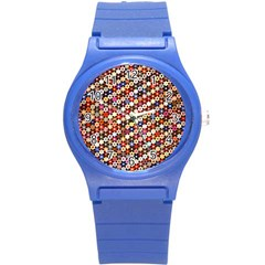 Tp588 Round Plastic Sport Watch (s) by paulaoliveiradesign