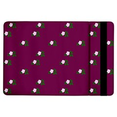 Pink Flowers Magenta Big Ipad Air Flip by snowwhitegirl