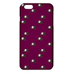 Pink Flowers Magenta Big Iphone 6 Plus/6s Plus Tpu Case by snowwhitegirl