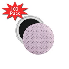 Pink Flowers Pink 1 75  Magnets (100 Pack)