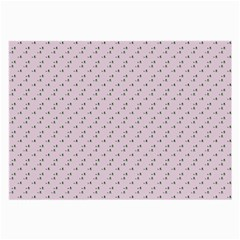 Pink Flowers Pink Large Glasses Cloth (2 Side) by snowwhitegirl