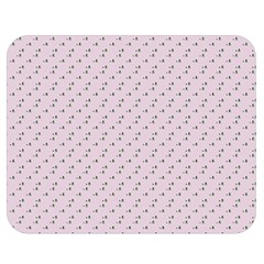 Pink Flowers Pink Double Sided Flano Blanket (medium)  by snowwhitegirl