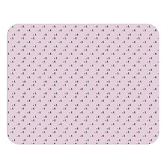 Pink Flowers Pink Double Sided Flano Blanket (large)  by snowwhitegirl