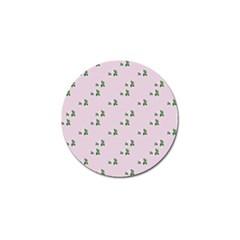 Pink Flowers Pink Big Golf Ball Marker by snowwhitegirl