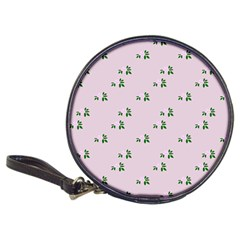 Pink Flowers Pink Big Classic 20 Cd Wallets