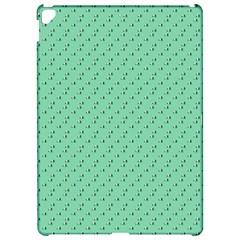 Pink Flowers Green Apple Ipad Pro 12 9   Hardshell Case