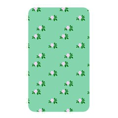 Pink Flowers Green Big Memory Card Reader
