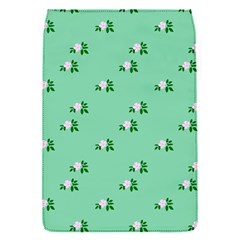Pink Flowers Green Big Flap Covers (s)
