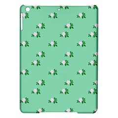 Pink Flowers Green Big Ipad Air Hardshell Cases
