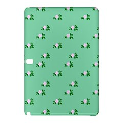 Pink Flowers Green Big Samsung Galaxy Tab Pro 10 1 Hardshell Case