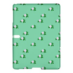 Pink Flowers Green Big Samsung Galaxy Tab S (10 5 ) Hardshell Case