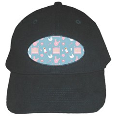 Baby Pattern Black Cap